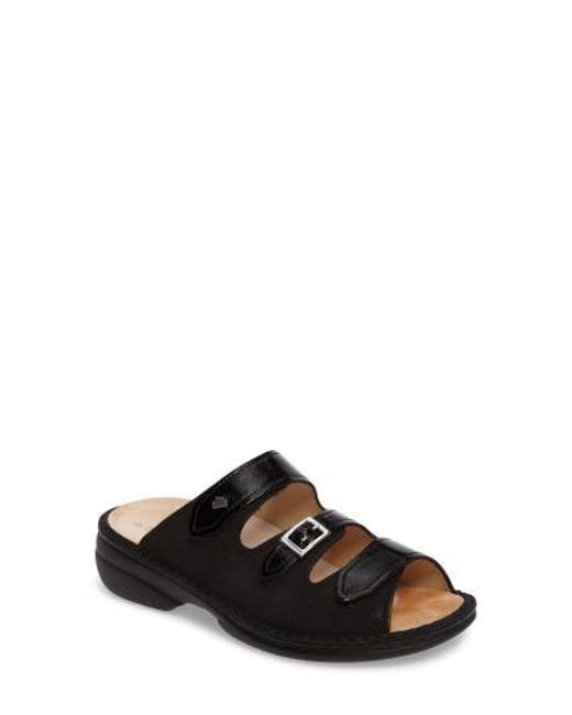 Finn Comfort | Black Anancapa Sandal | Lyst