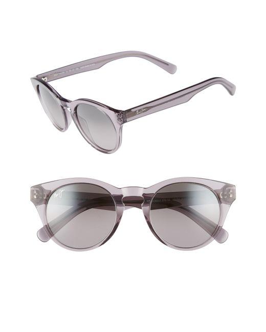 Maui Jim - Gray Dragonfly 49mm Polarized Cat Eye Sunglasses - - Lyst