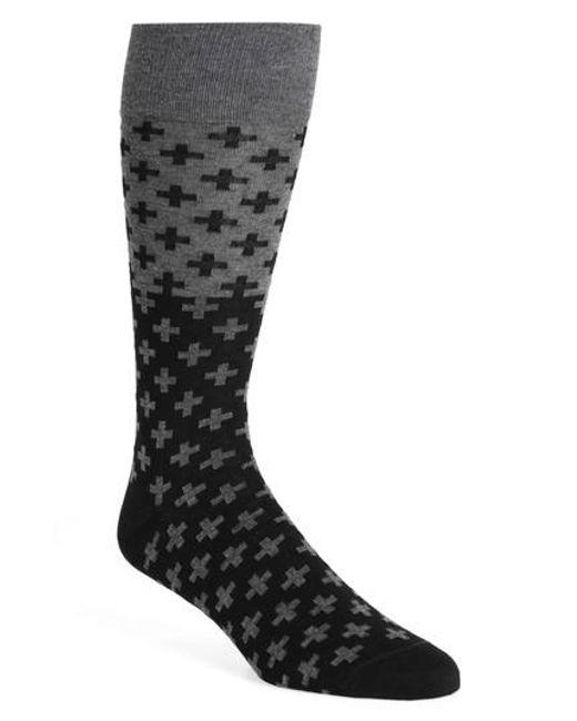 Calibrate | Black Cross Socks for Men | Lyst