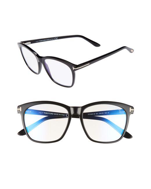 Tom Ford - Multicolor 54mm Blue Block Optical Glasses - Lyst