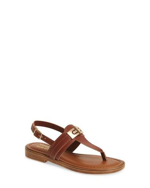 Easy Street - Brown By Easy Street Clariss Sandal - Lyst