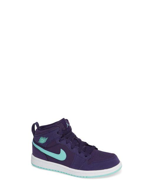 Nike - Black Nike 'jordan 1 Mid' Basketball Shoe for Men - Lyst