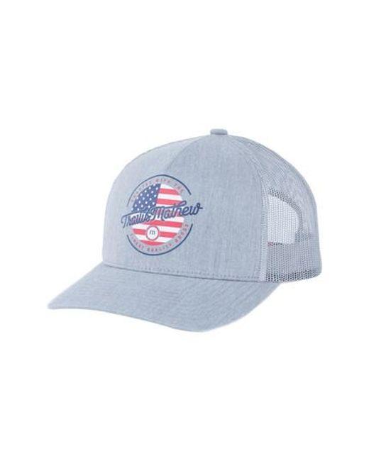 Lyst - Travis Mathew Jimmy Trucker Hat in Gray for Men 25641f110502