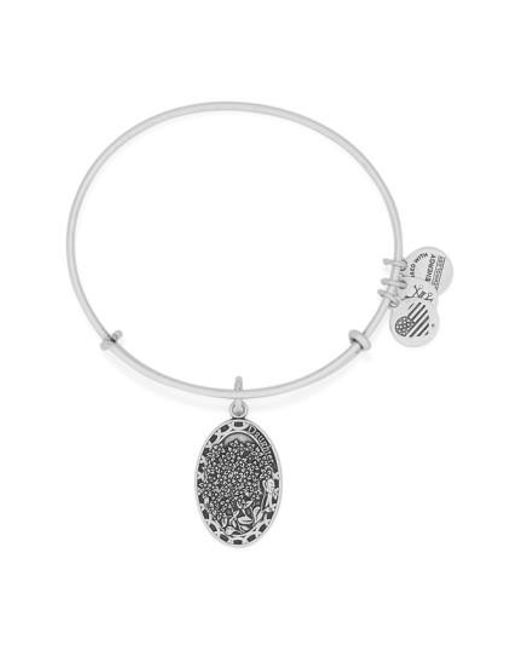 ALEX AND ANI | Metallic 'i Love You Daughter' Expandable Wire Bangle | Lyst