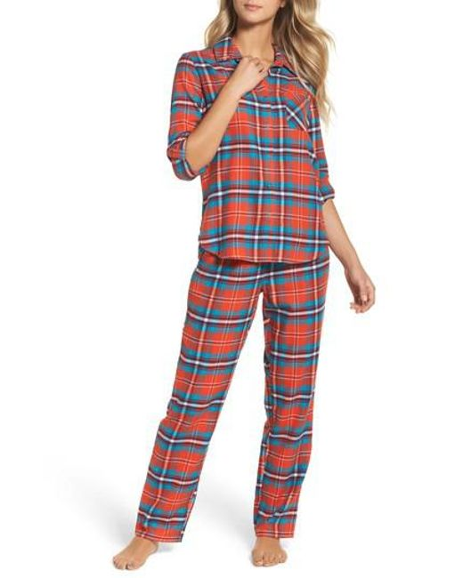 Make + Model | Red Flannel Pajamas | Lyst