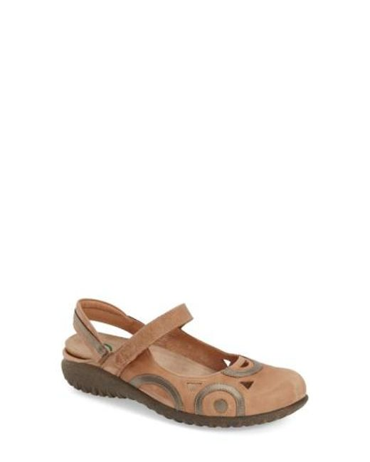 Naot | Natural 'rongo' Slip-on | Lyst