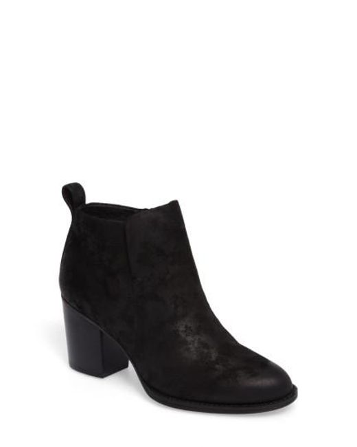 Söfft | Black Ware Plain Toe Bootie | Lyst