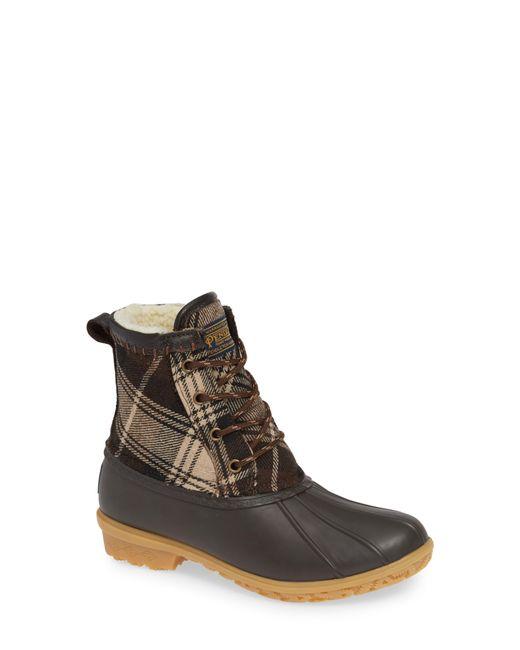 Pendleton - Brown Heritage Plaid Duck Boot - Lyst
