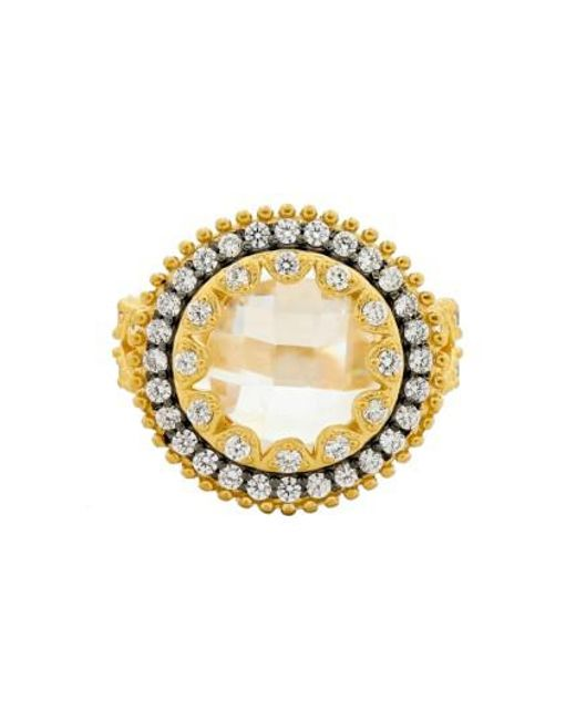 Freida Rothman - Metallic 'metropolitan' Cocktail Ring - Lyst