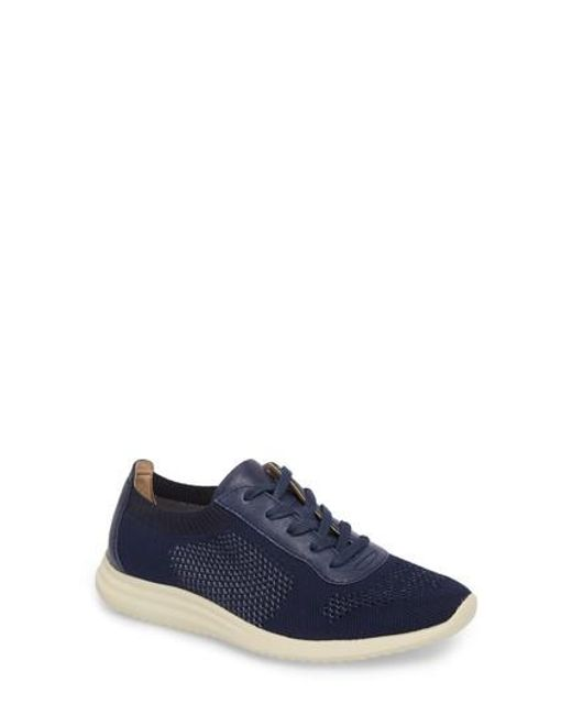 Söfft - Blue Novella Sneaker - Lyst