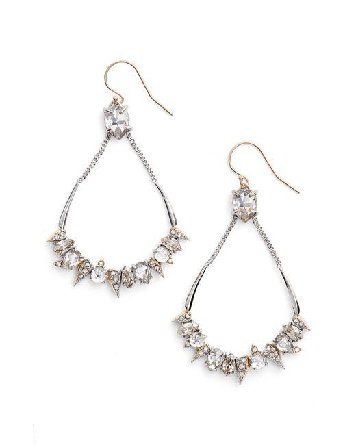 Alexis Bittar - Metallic Crystal Encrusted Mosaic Drop Earrings - Lyst