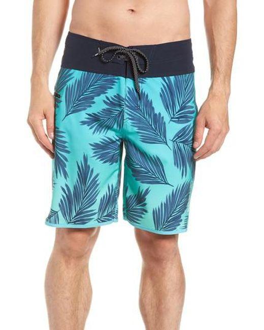 Rip Curl - Blue Mirage Mason Rockies Board Shorts for Men - Lyst