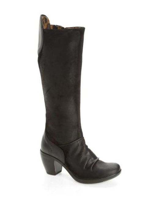 Fly London | Black Hean Knee High Boot | Lyst