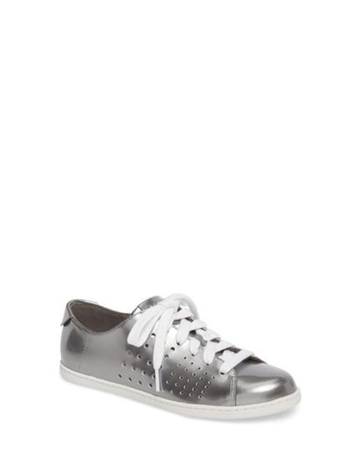 Camper - White Tws Perforated Low Top Sneaker - Lyst