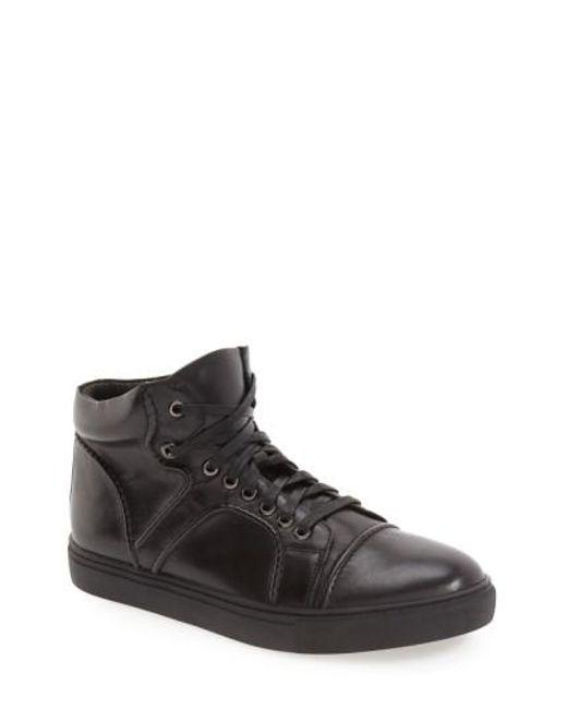 Zanzara   Black 'Vinyl' Sneaker for Men   Lyst