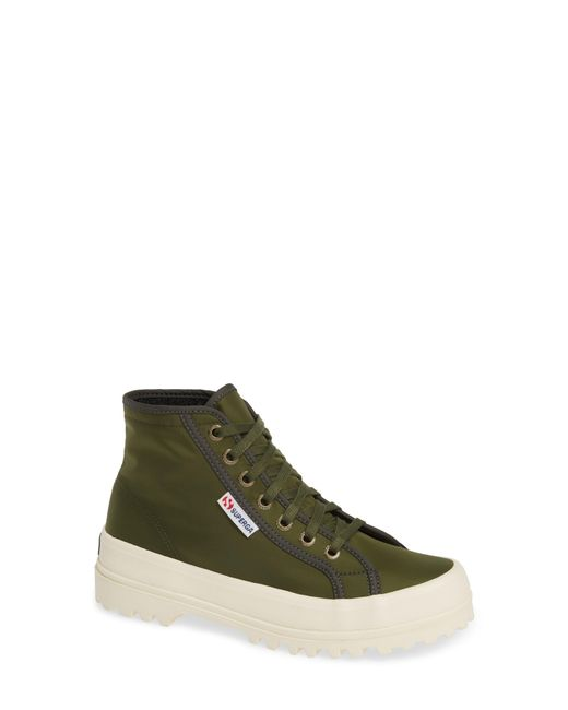 72783c8fd18f Lyst - Superga 2553 Cotu Sneaker Boot in Green