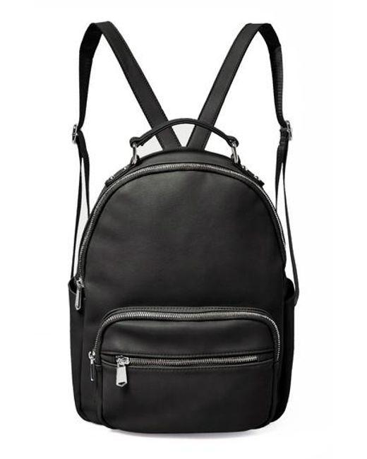 Urban Originals - Black On My Own Vegan Leather Backpack - Lyst