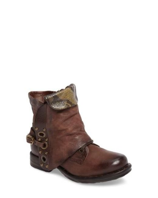 A.s.98 | Brown A.s. 98 Scanlon Boot | Lyst