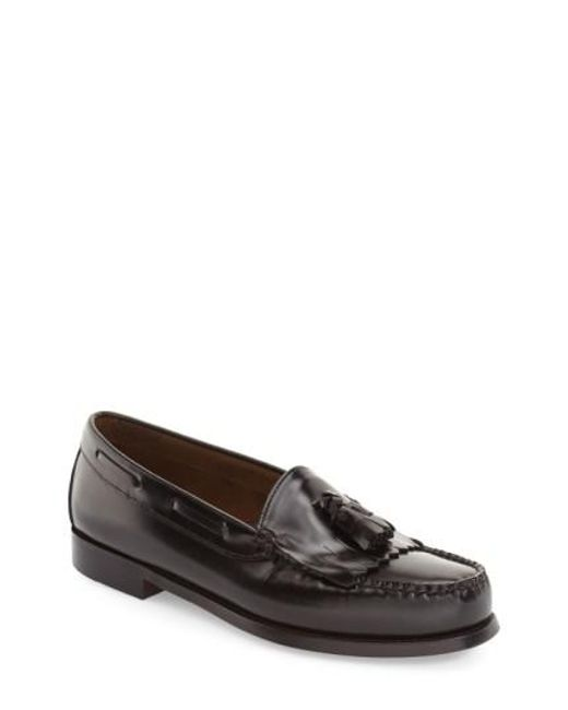 G.H. Bass & Co. | Brown 'layton' Tassel Loafer for Men | Lyst
