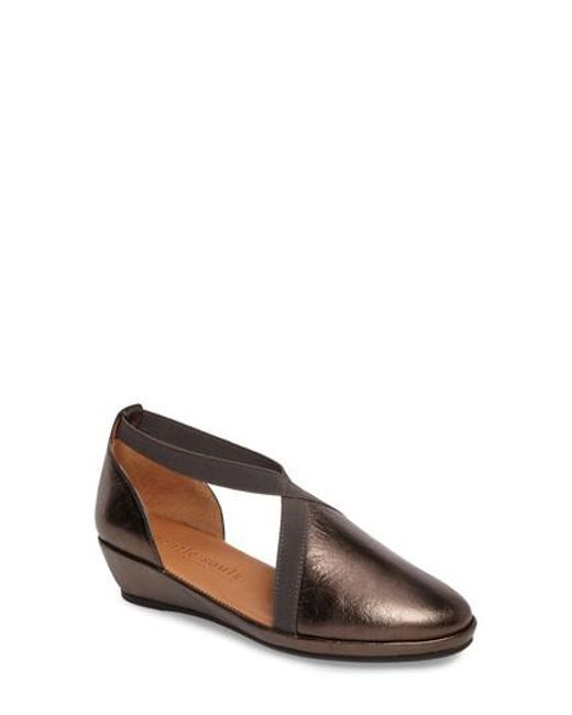 Gentle Souls - Black By Kenneth Cole Natalia Wedge - Lyst