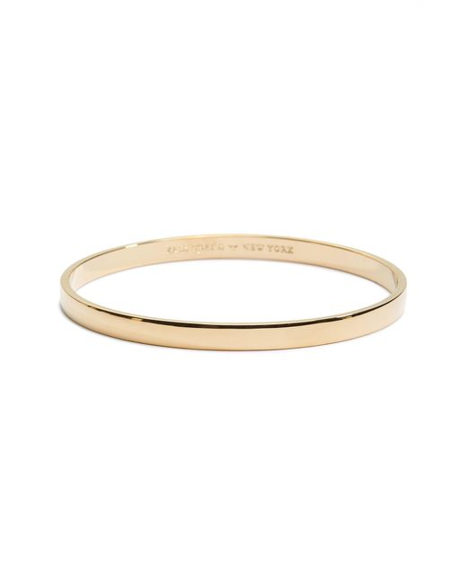 Kate Spade - Metallic 'idiom - Heart Of Gold' Bangle - Lyst