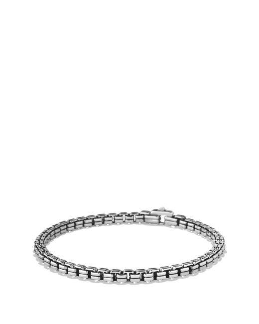 David Yurman - Metallic 'chain' Double Box Chain Bracelet for Men - Lyst