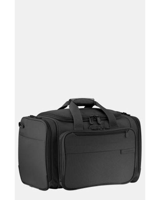 Briggs & Riley | Black 'baseline - Deluxe' Duffel Bag for Men | Lyst