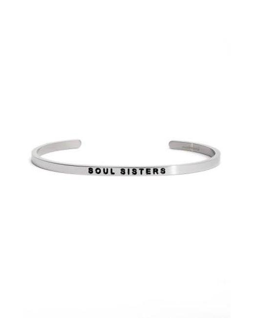 Mantraband | Metallic 'soul Sister' Cuff | Lyst
