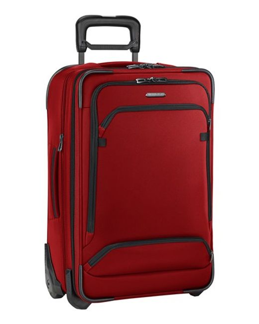 Briggs & Riley   Red 'transcend' Wheeled Carry-on for Men   Lyst
