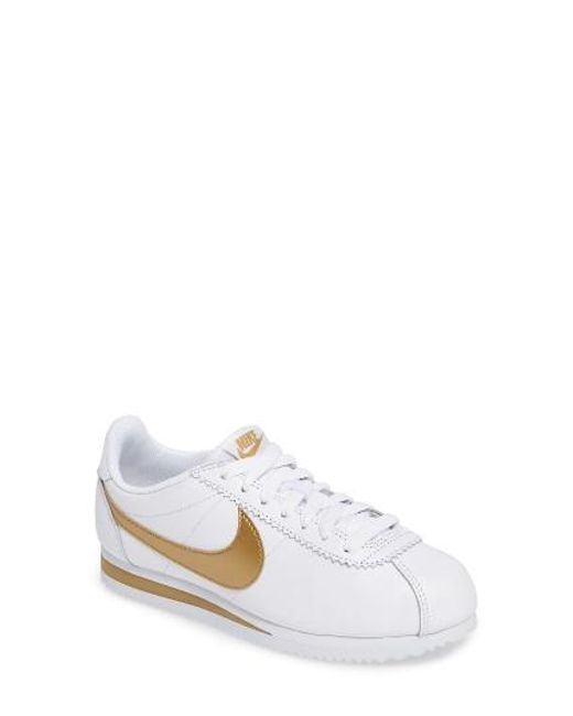 Nike | White 'classic Cortez' Sneaker for Men | Lyst
