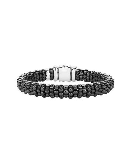 Lagos | Black Caviar Bracelet | Lyst