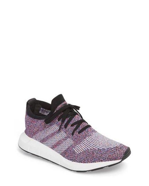 Adidas - Black Swift Run Primeknit Sneaker for Men - Lyst