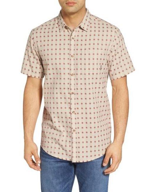 Billabong - Natural Sundays Jacquard Woven Shirt for Men - Lyst