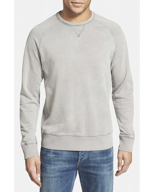 Jeremiah | Metallic 'armstrong' Sunwashed French Terry Sweatshirt for Men | Lyst