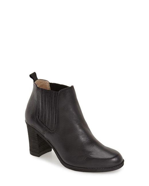 Dr. Scholls   Black Original Collection 'london' Block Heel Bootie   Lyst