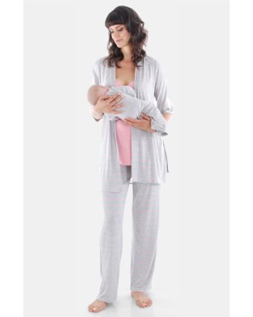 Everly Grey | Gray Roxanne - During & After 5-piece Maternity Sleepwear Set | Lyst