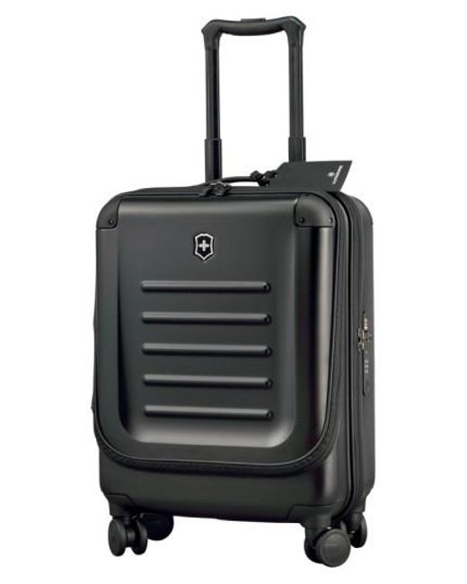 Victorinox | Black Victorinox Swiss Army 'spectra 2.0' Dual Access Global Hard Sided Rolling Carry-on for Men | Lyst