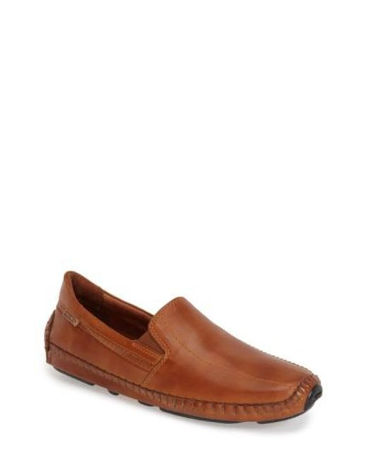 Pikolinos | Brown 'jerez' Driving Shoe for Men | Lyst