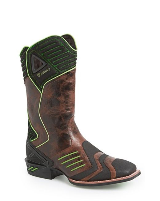 Ariat | Brown 'catalyst Vx' Performance Cowboy Boot for Men | Lyst