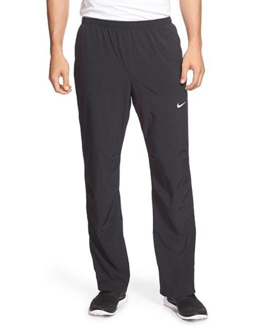 Nike | Black Dri-fit Woven Pants for Men | Lyst