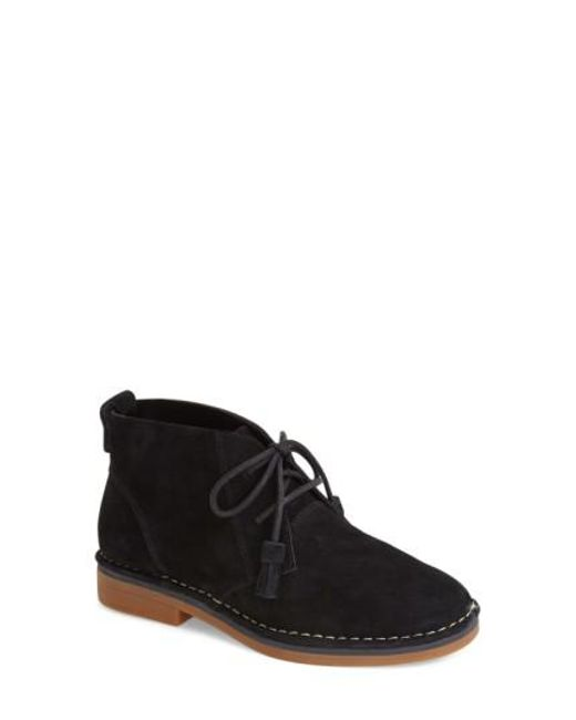Hush Puppies | Black 'cyra Catelyn' Chukka Bootie | Lyst