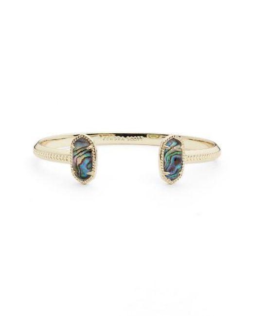 Kendra Scott | Blue 'elton' Station Cuff Bracelet | Lyst
