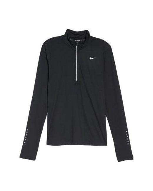 Nike | Black 'element' Dri-fit Half Zip Performance Top | Lyst