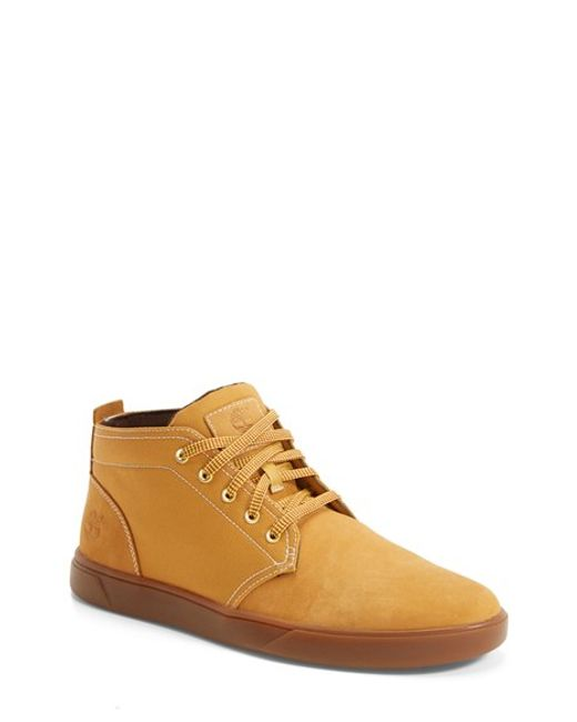 Timberland | Natural Earthkeepers 'Groveton' Chukka Sneaker for Men | Lyst