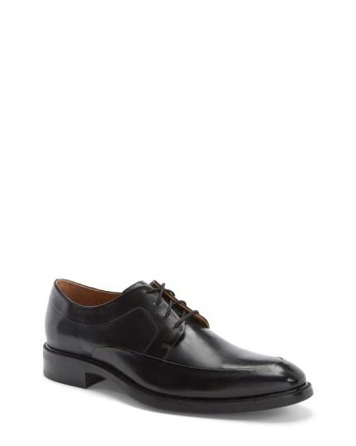 Cole Haan | Black 'warren' Apron Toe Derby for Men | Lyst