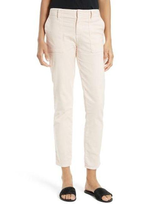 Joie   Natural Painter Cotton & Linen Pants   Lyst