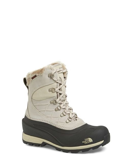 The North Face | Black 'chilkat 400' Waterproof Primaloft Insulated Boot | Lyst