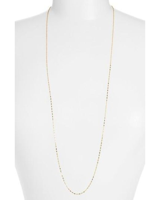 Bony Levy | Yellow Beaded Chain Long Necklace (nordstrom Exclusive) | Lyst