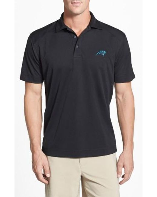 Cutter & Buck | Black 'Carolina Panthers - Genre' Drytec Moisture Wicking Polo for Men | Lyst