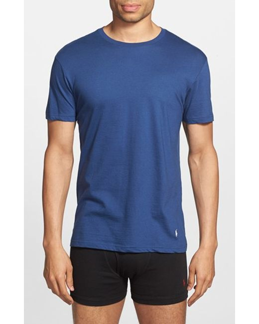Polo Ralph Lauren | Multicolor Classic Fit 3-pack Cotton T-shirt, Blue for Men | Lyst